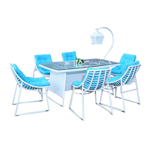 Outdoor Modern Cheap Patio Dining Sets Sale Garden Furniture Outside Table and Chairs