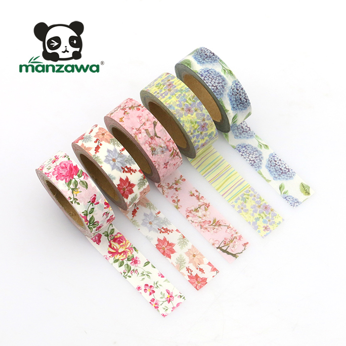 hot sale printed masking tape adhesive backed foam rubber washi paper tape