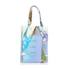 Fashion Laser Pvc Beach Bag Holographic Iridescent Shopping Tote Bag