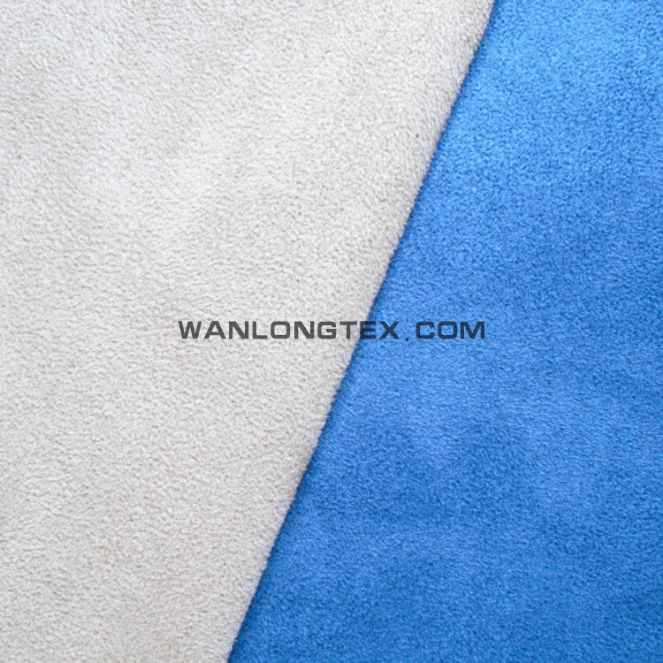 100% polyester dense velvet fabric for shoes