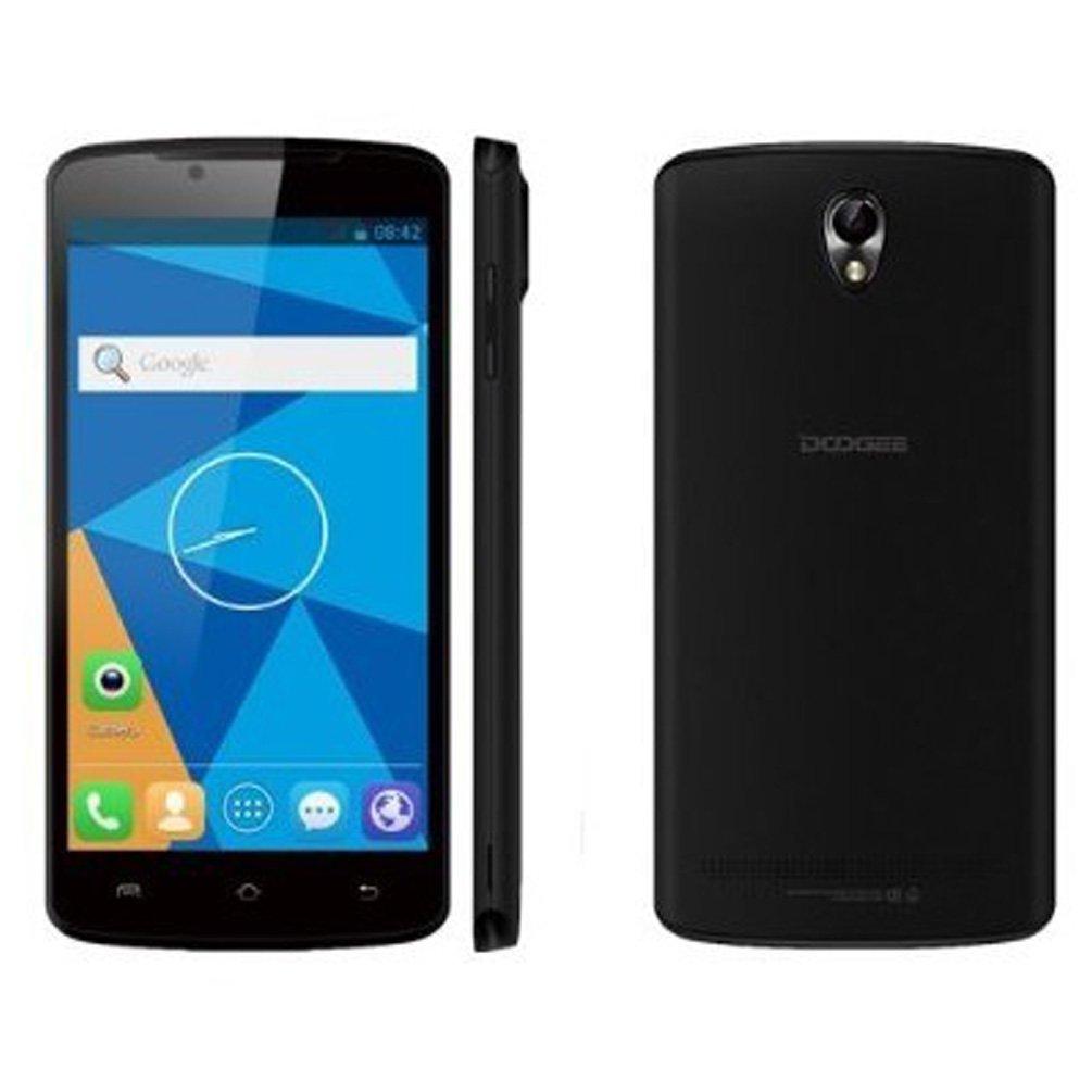 Doogee MINT DG330 4GB, 5.0 inch 3G Android 4.2.2 Smart Phone, MTK6582 Quad Core 1.3GHz, RAM: 1GB, Dual SIM, WCDMA & GSM (Black)