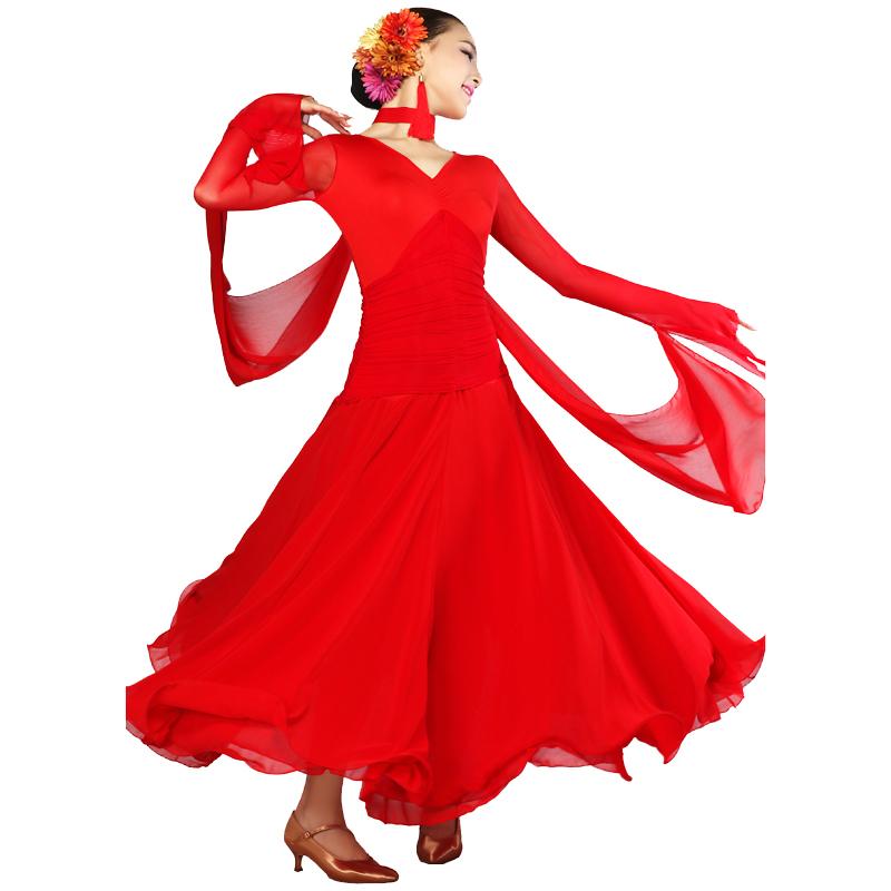 463e6636c Buy Modern dance dresses Expansion dance Flamenco ballroom dance ...