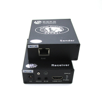 120m 170m TX RX over ip cat5ex1 HDMI Extender