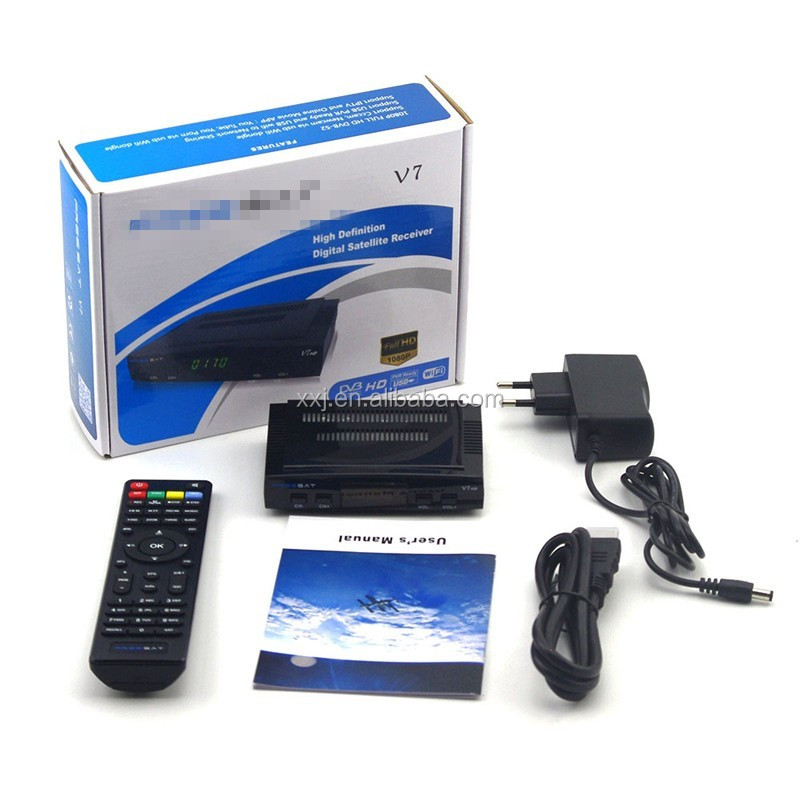 Serving the Middle East and Africa market TV receivers, DVB-S2 set-top boxes, Mini equipped with V7 HD