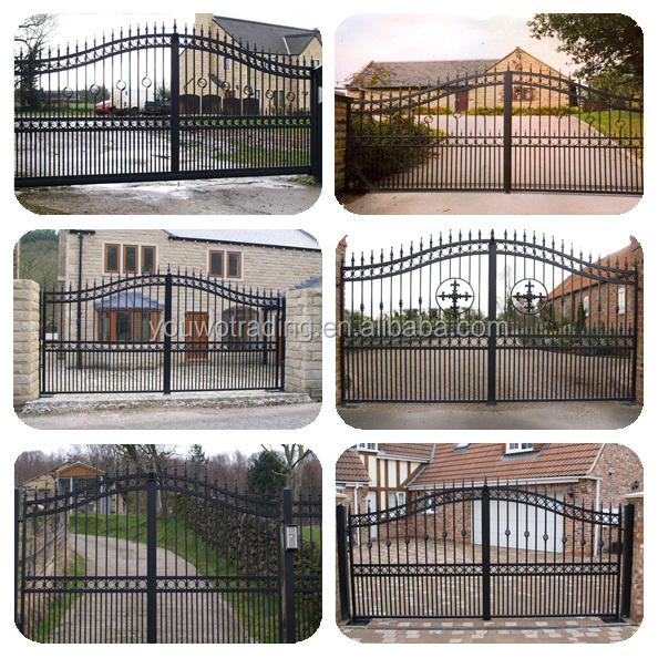 Steel Main House Gate Door Designs