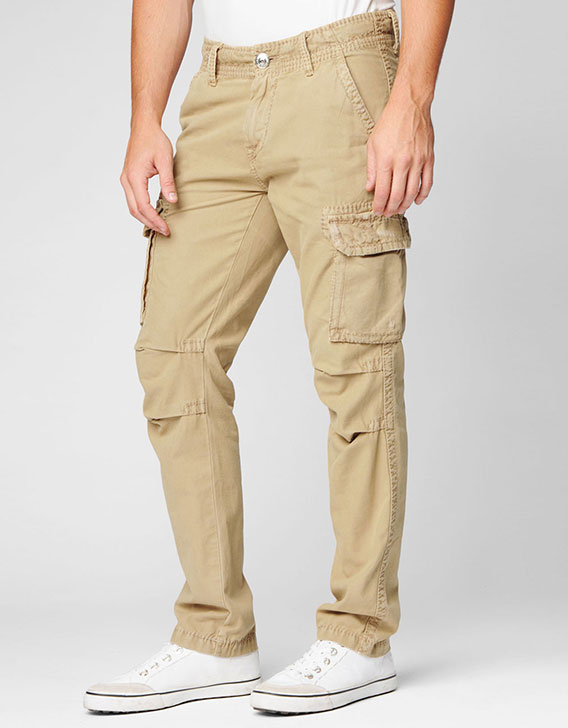 Men's Big T Slim Cargo Pants - Buy Men Military Cargo Pants,Match ...