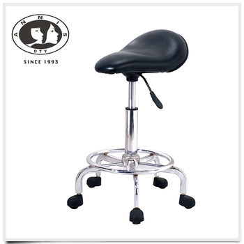 Wholesale alibaba china supplier salon furniture luxurious soft leather rubber ring bar stool