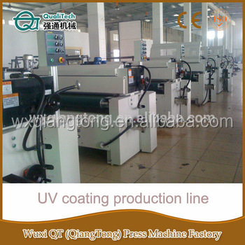 single roller UV coater for sale