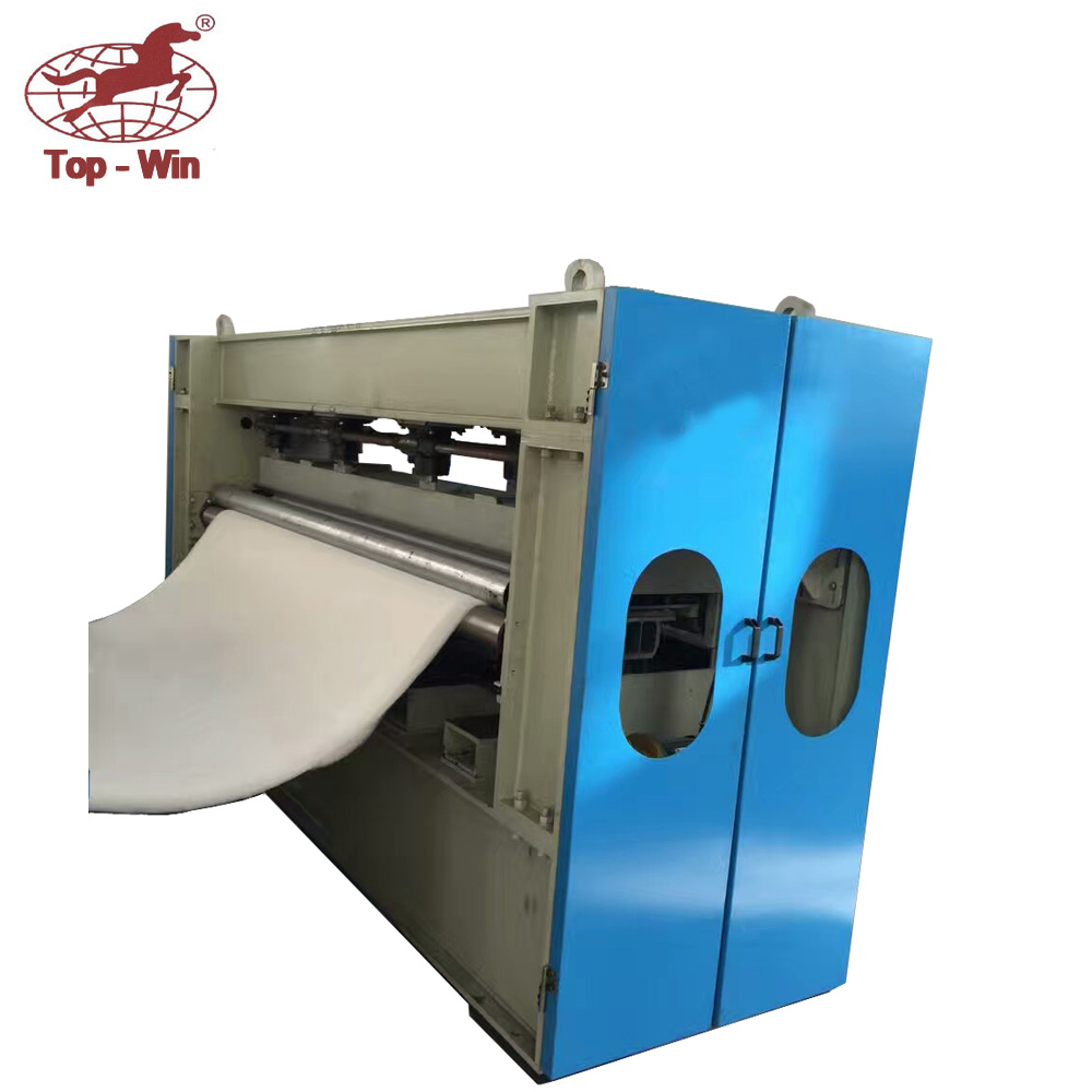 Nonwoven top bottom main needle loom bamboo fabric needle punched machine
