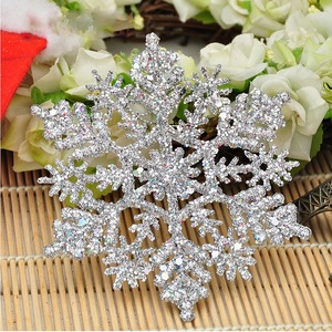 Western favors hanging snowflake indoor and outdoor Christmas Decoration