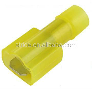 male wire terminal yellow
