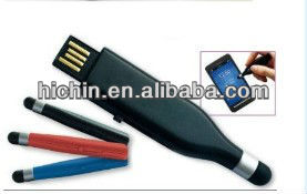 plastic USB flash with touch function