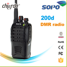 SOPO-200d Talkie Walkie Étanche de Football Arbitre Radio Communication