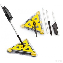 Easy home sweeper triangle cordless sweeper with rechargeable battery