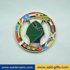 custom coin molds, custom coin maker, art crafts coins with soft enamel
