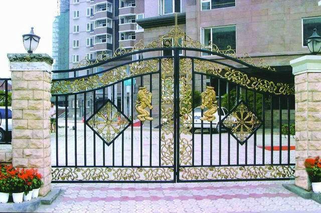 Durable House Main Gate Design Metal Gate Design