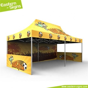 China supplier aluminum trade fair wrinkle free advertising 3x3 tents