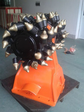 Hydraulic rotary trenching drum cutters for 3-60 ton excavators / Roadheader attachment