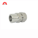 Swagelok type stainless steel high pressure two ferrule ss304 male stud coupling