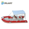 RILAXY Inshore & lake Chinese manufacturer oriented cheap small inflatable center steering console fishing boat for sale