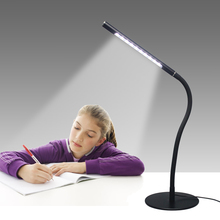Wholesale White Silicone LED Touch Bedside Home Reading Office Table Lamp