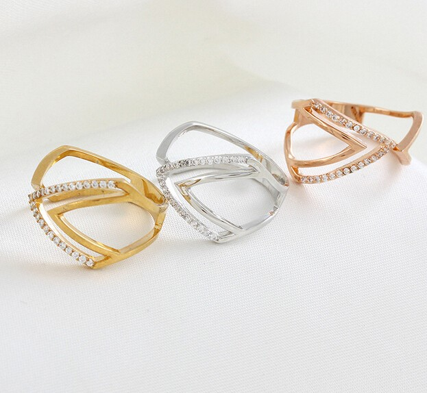 fashionable promotional gifts gold ring