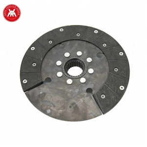 size 250*25*41.5 tractor part PTO clutch disc 1865836M91 for MF tractor