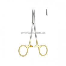 Needle holder TC, Halsey, smooth,130mm in length, Orthodontic Instruments, Simrix