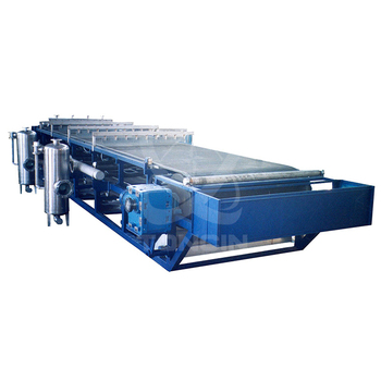 Sludge Dewatering horizontal belt filter press for mine industry