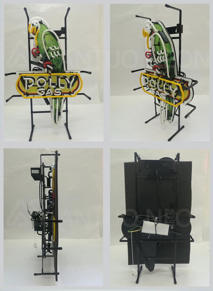 Iklan Outdoor Antelope Neon Tanda-tanda Digunakan Neon Bar Tanda Dijual Buatan China