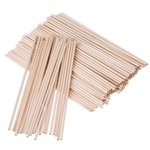 round wooden stick lollipop candy ice cream sticks