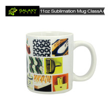 wholesale cheap 11oz white sublimation mug ClassAA for sublimation printing
