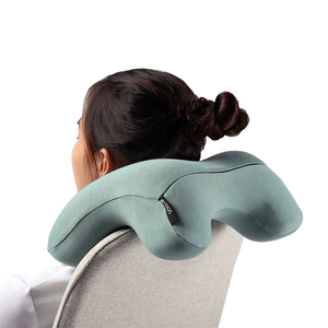 Multi Functional Fold Customized Multi-Color Comfortable Adjustable Travel Pillow Memory Foam Neck Pillow For Airplanes