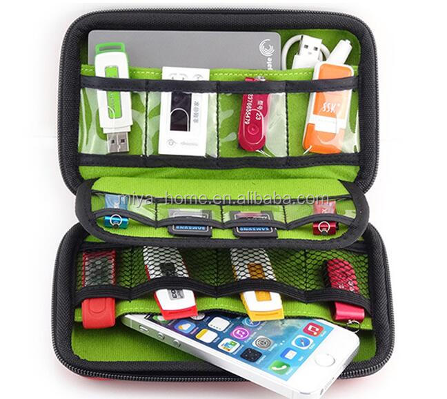 High quality U-DISH STORAGE / PHONE BAG / SD card organizer