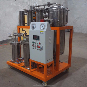 Fully automatic biodiesel production and waste cooking oil cleaning plant for dehydration and impurities removal