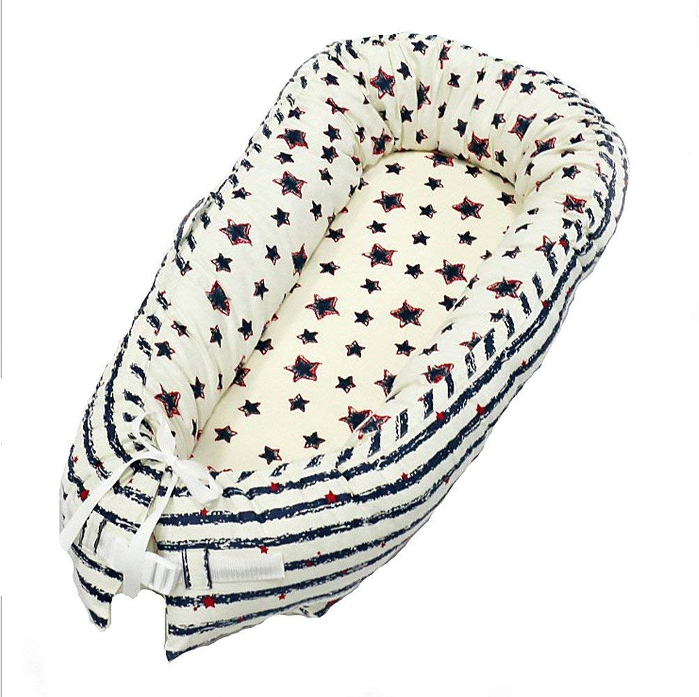Buy Ukeler 100% Cotton Portable Cribs for Bedroom/Travel