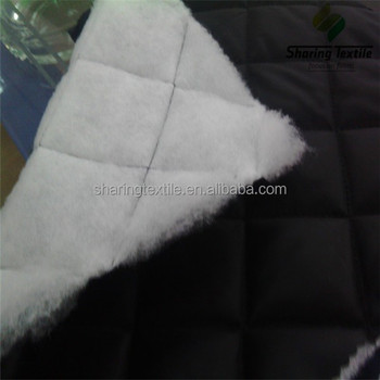 Quilted polyester fabric/Quilted upholstery fabric/Padding quilted fabric
