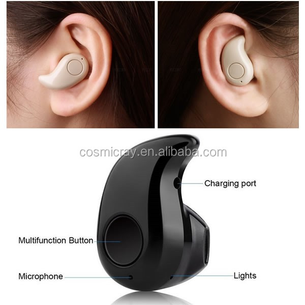 Free sample products super mini wireless bluetooth headset with fm radio