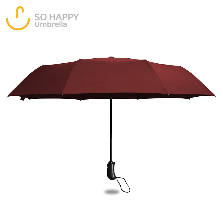 Super Small Size Red Surface Girl Umbrella For Rain, Rain Walker Umbrella