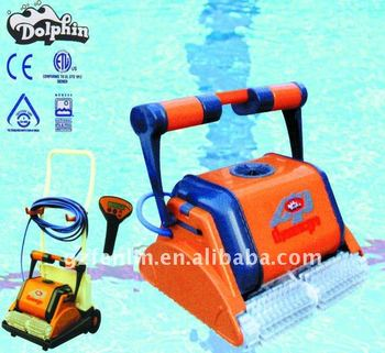 automatic swimming pool cleaner pool cleaner robot dolphin - Dolphin Pool Cleaner