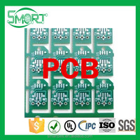 ~Smart Electronics~ pcb design service with high quality, Gold-plate, HAL, for Radio and stereo equipment pcb