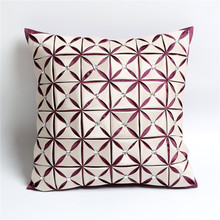 Manual diamond satin pillows sofa silk cushion cover