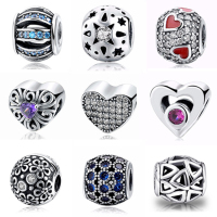 Wholesale Fashion Classic Style 925 Sterling Silver Charms