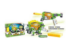 Deformation toys soft bullet gun change by dinosaur toy