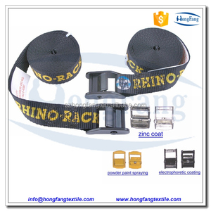 Webbing packing straps with heavy duty belt buckle