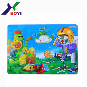 Children Cardboard paper Jigsaw Puzzle/Kids Puzzle Game