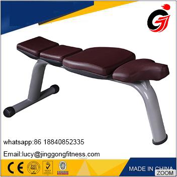 JINGGONG Best price sports fitness equipment adjustable weight flat bench for wholesale