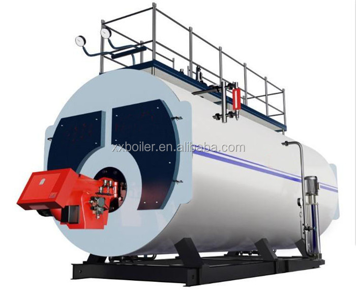 Dual Fuel Gas Steam Boiler Manufacturing Process For Food Industry ...