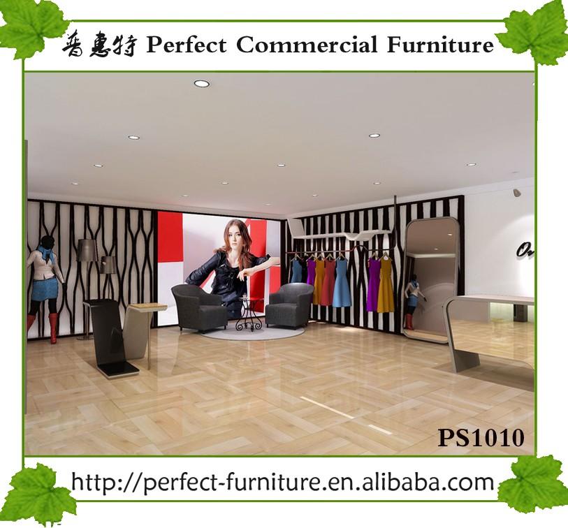 Modern Shop Counter Design For Garment Store Clothing Shops ...