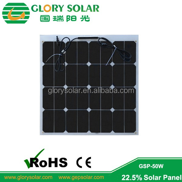 Framless Solar Pv Modules Etfe Surface Glass Backsheet
